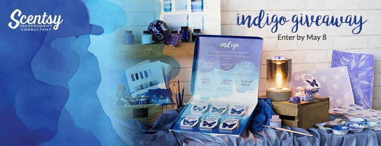Announcing Indigo. Color your senses. Enter the Indigo Giveaway!