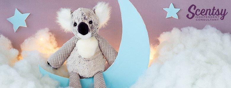 The Keaton the Koala Scentsy Buddy has officially arrived!