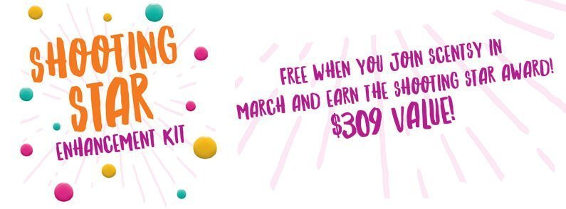 Join in March to earn $309 in free Scentsy!