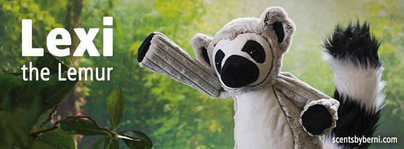 Cuddle up with new Scentsy Buddy Lexi the Lemur today!