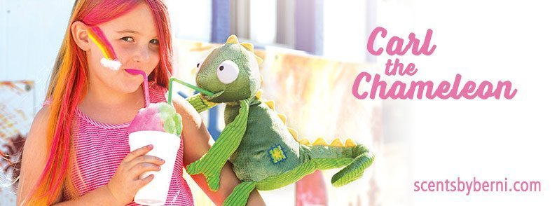 New Scentsy Buddy Carl the Chameleon has taken the stage!