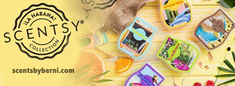 Lose yourself in Scentsy's new La Habana Collection