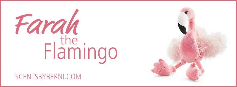 Farah the Flamingo New Scentsy Buddy!