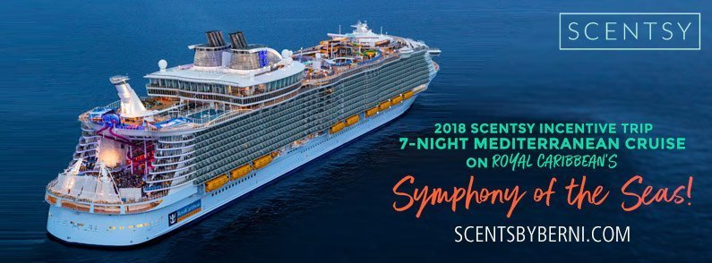 2018 Scentsy incentive trip – Royal Caribbean's Symphony of the Seas!