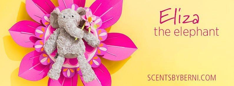Introducing Eliza the Elephant Scentsy Buddy!