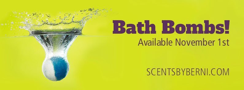 Scentsy Bath Bombs Available November 1st!