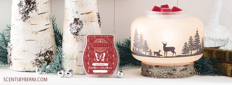 Wildlife and Scarlet Woods – December 2017 Scentsy Warmer and Scent of the Month