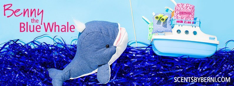 New Scentsy Buddy Benny the Whale!