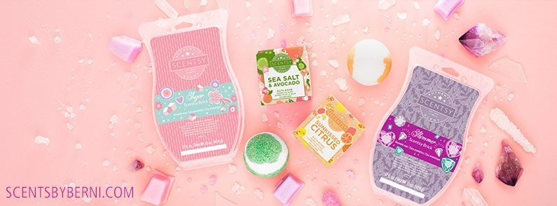 New fragrances for Scentsy Bath Bombs and Scentsy Bricks!