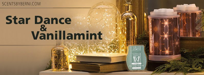 Star Dance & Vanillamint – Scentsy's January 2018 Warmer & Scent of the Month