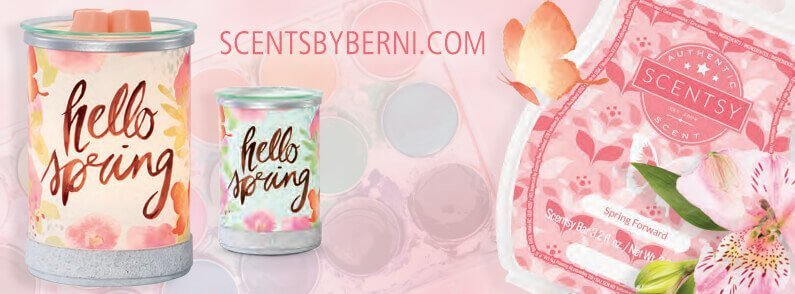 Hello Spring & Spring Forward – Scentsy's March 2018 Warmer & Scent of the Month