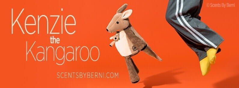 Kenzie the Kangaroo New Scensty Buddy!