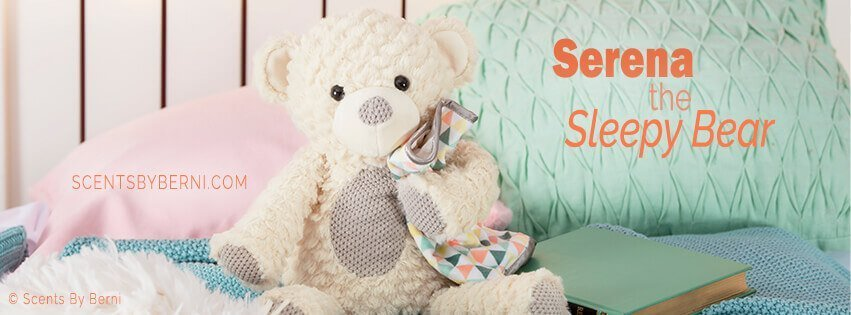 Serena the Sleepy Bear NEW Scentsy Buddy!