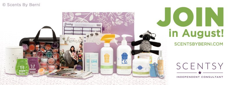 Join Scentsy in August!