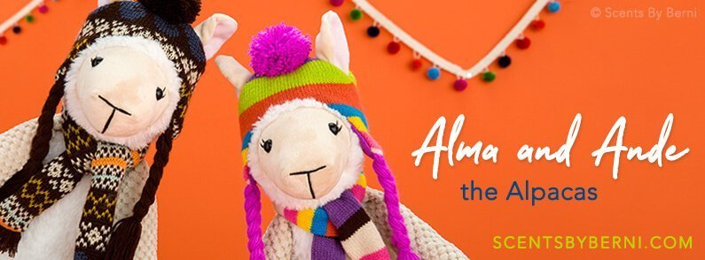 Alma and Ande the Alpacas new Scentsy Buddies!
