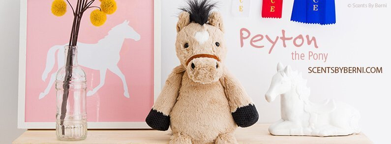 Peyton the Pony NEW Scentsy Buddy!