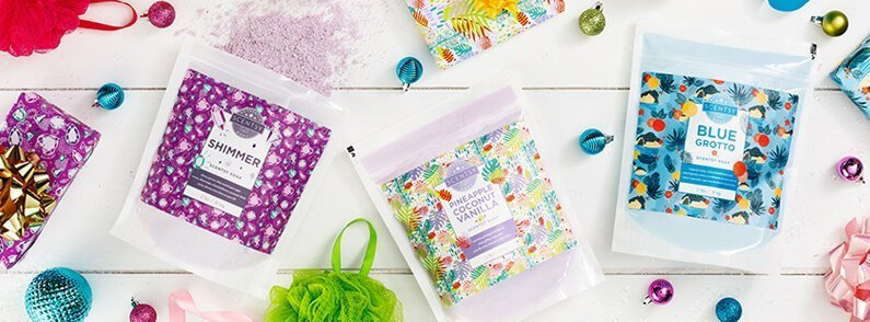 Three new giftable Scentsy Soak fragrances are here for a limited time!