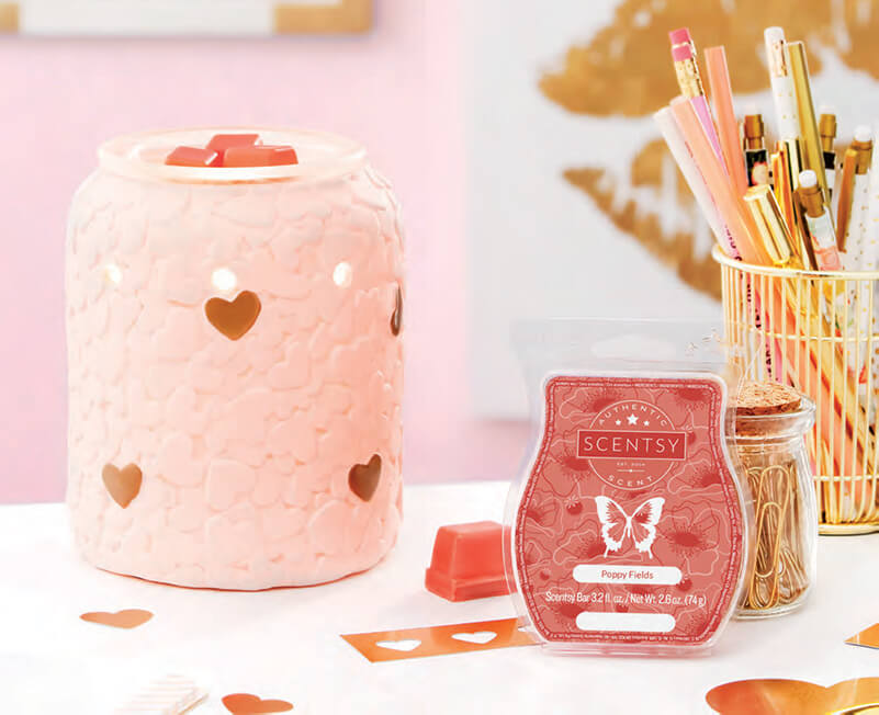 Appreciation & Johnny Appleseed, Scentsy Warmer and Scent of the Month April 2018