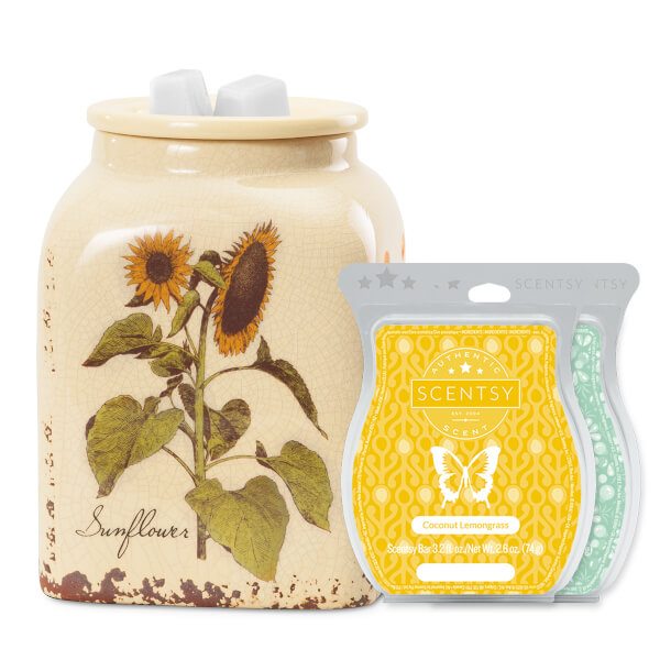 Rustic Sunflower Warmer Bundle