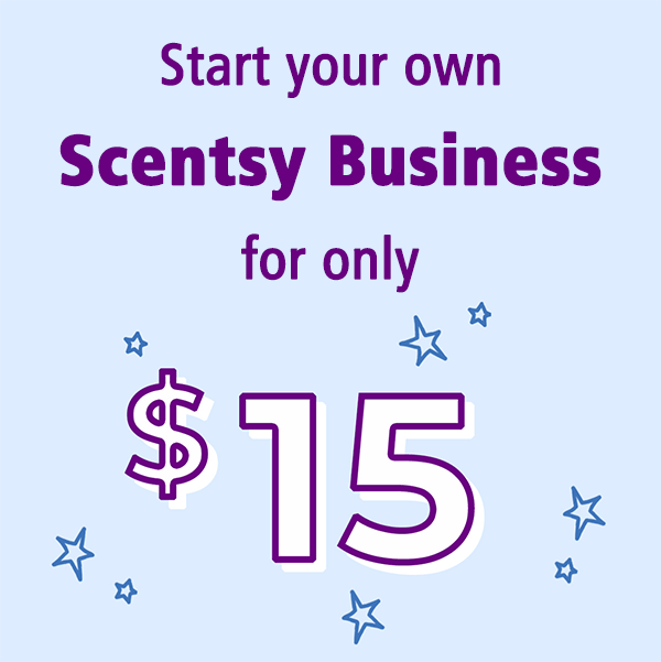 Start your own Scentsy Business for only $15