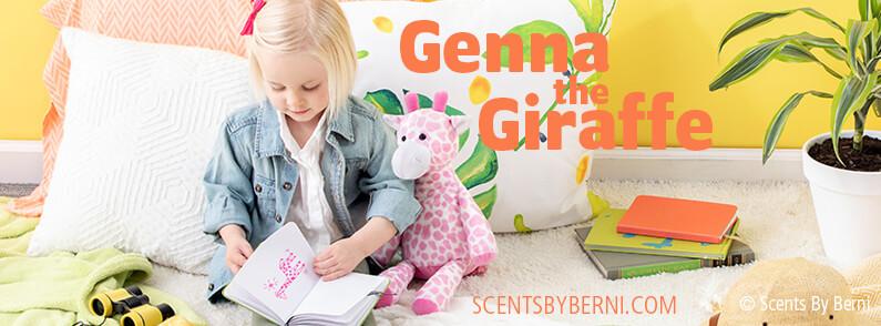 NEW Genna the Giraffe Scentsy Buddy!