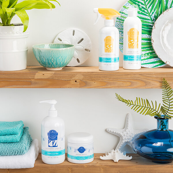 Driftwood Bay Laundry, Dish Soap, Counter Clean