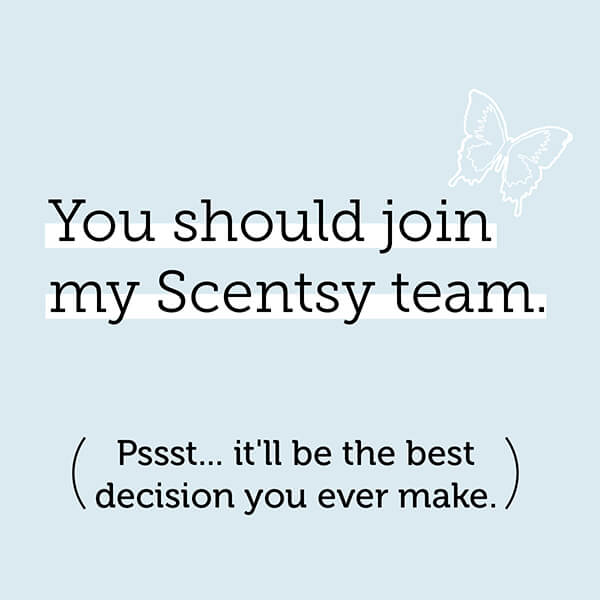 Join my Scentsy Team!