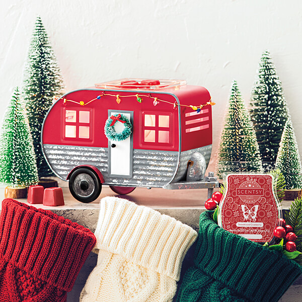 Christmas Camper & Snowkissed Cranberry