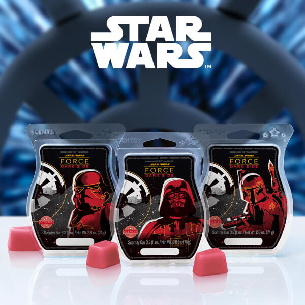Star Wars Dark Side of the Force Scentsy Bars