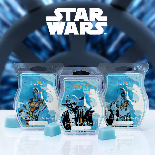 Star Wars Light Side of the Force Scentsy Bars