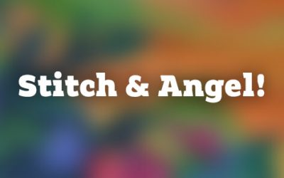 Stitch is back! And here's Angel!