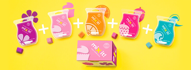 The Mix It! Wax Collection