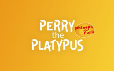 Perry the Platypus from Phineas and Ferb!