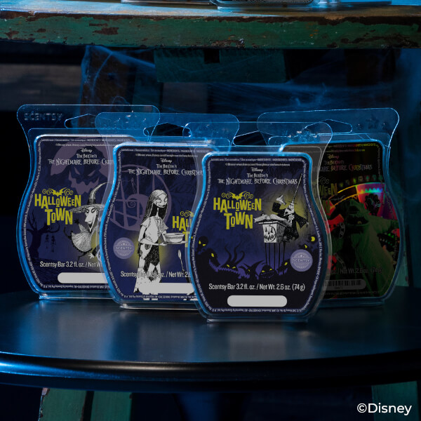 Halloween Town Scentsy Bars