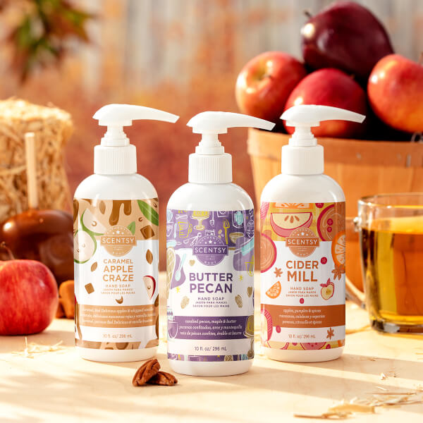 2020 Harvest Hand Soap 3-pack