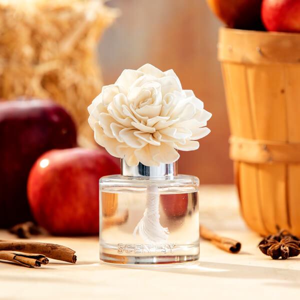 Dahlia Darling Fragrance Flower with Apple & Cinnamon Sticks