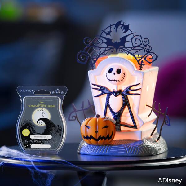 Jack Skellington: Pumpkin King Scentsy Warmer