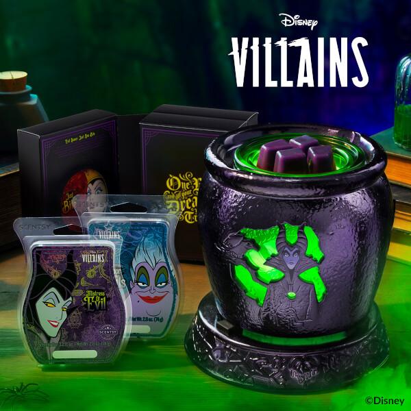 Disney Villains Warmer and Wax