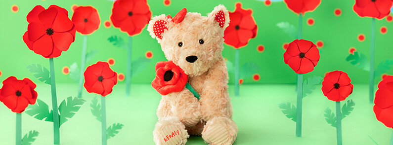 Poppy the Bear, Our Newest Scentsy Buddy!