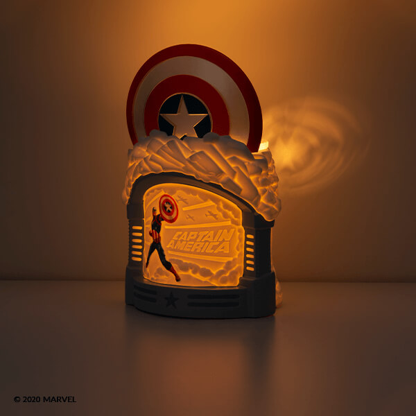 Captain America Warmer Wall Silhouette