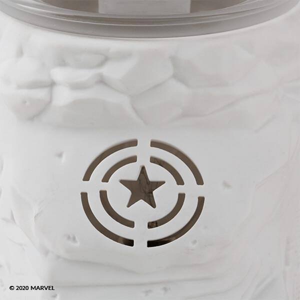 Captain America Warmer Detail