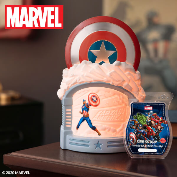 Captain America Warmer & Nine Realms Day Lit