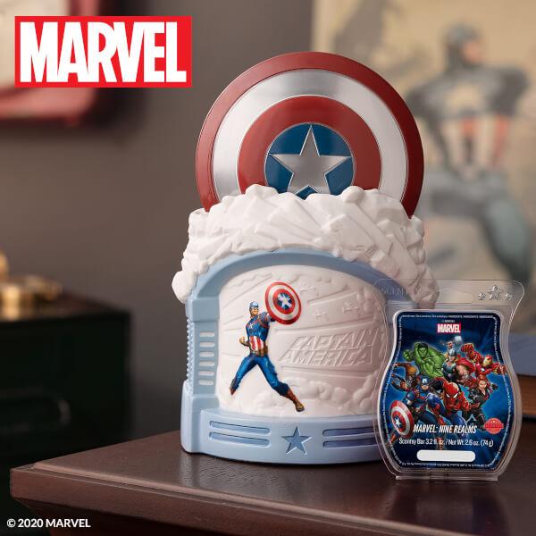 Captain America Warmer & Nine Realms Day Unlit