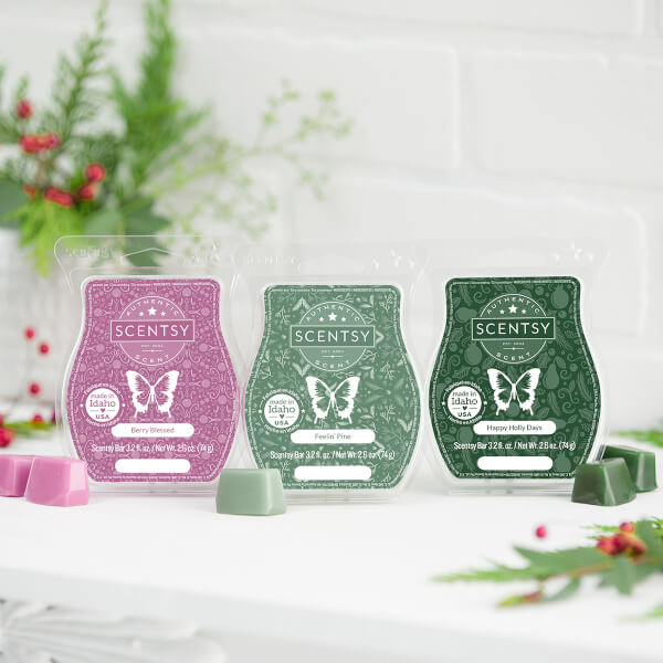 Let it Snow Scentsy Bar 3-pack
