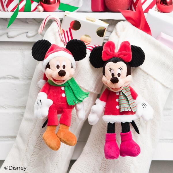 Mickey & Minnie Holiday Scentsy Buddy Clips