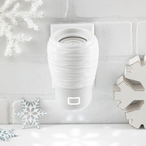 Wall Fan Diffuser with Snowflake Light