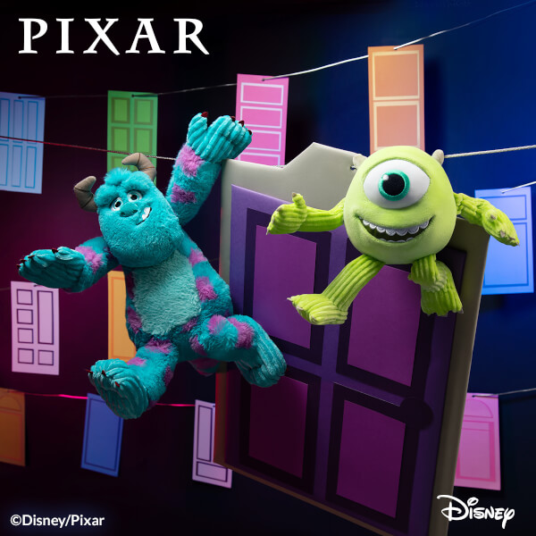 Monsters, Inc. Mike & Sulley Scentsy Buddies