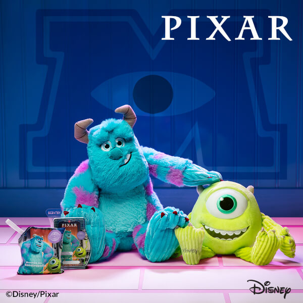 Monsters, Inc. Mike & Sulley Scentsy Buddies with Monsters Inc.: Monstropolis Scentsy Bar and Scent Pak