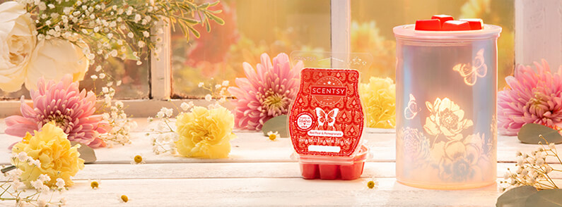 Cast – Pink Warmer with Spring Pack and Red Pear & Pomegranate