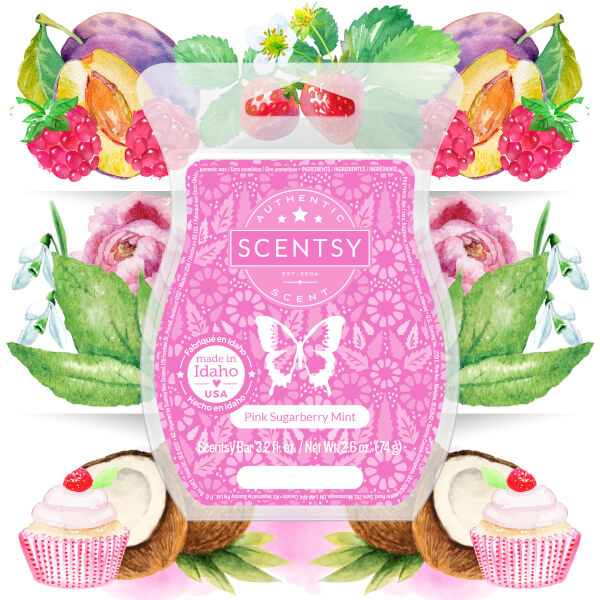 Pink Sugarberry Mint